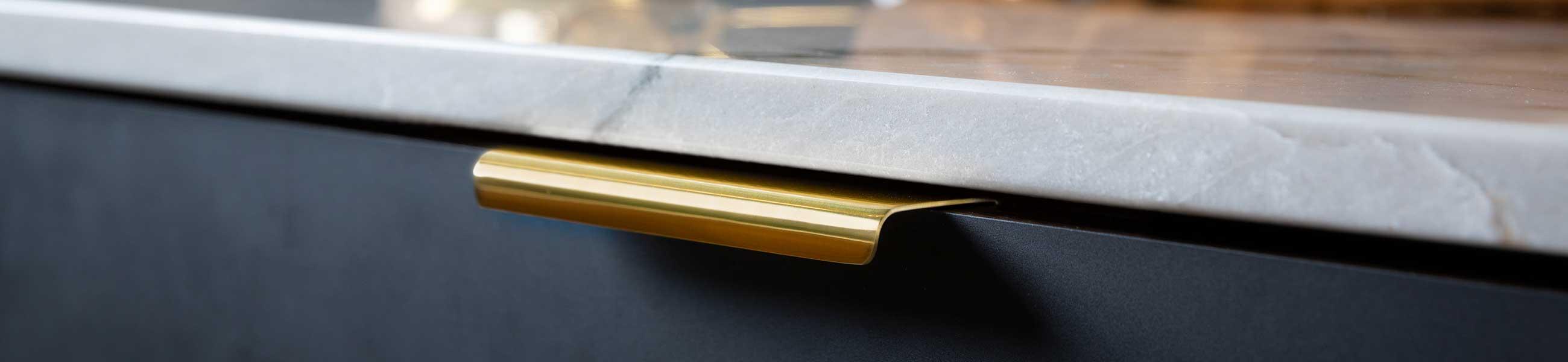 Tidlos Messing Greb I Moderne Design Beslagonline Dk
